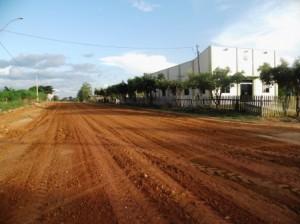Limpeza do Distrito Rio Branco.